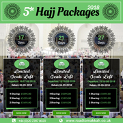 hajj package 2018