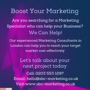 Experienced Marketing Consultants in London..